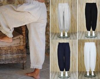 Women linen pants | Etsy