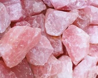 Rose Quartz Crystal Essence Dosage Bottle w/Dropper