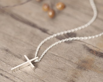 Classic Cross Necklace 925 Sterling Silver