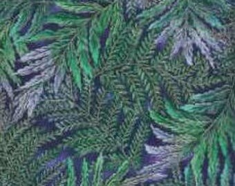 Timeless Treasures Quilting Cotton Fabric Leaves 129914 - 1/2 Yard