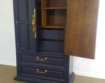 SOLD --- Armoire / tall dresser / wardrobe