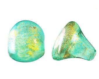 Murano Glass Ring 'Jewel' by Mystery of Venice, Murano Glass Jewelry, Glass Ring, Murano Glass, Bague Verre, Anello di Vetro, Bijoux Murano