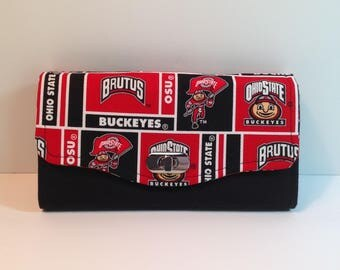 Ohio State Fabric Necessary Clutch Wallet