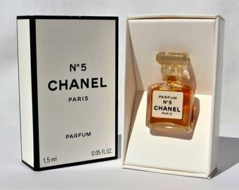Miniature CHANEL N 5 - 1,5 ml 0.05 FL.OZ - Rare