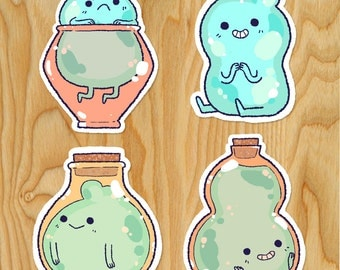 Potion Pal Stickers *Pack of 4*