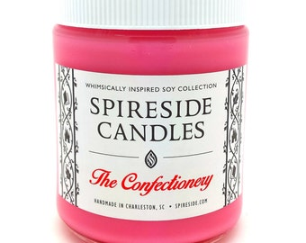 The Confectionery ® Candle - Spireside Candles - Disney Candles - 8 oz Jar