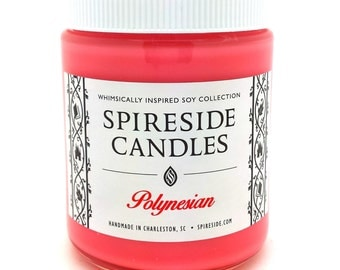 Polynesian ® Candle - Spireside Candles - Disney Candles - 8 oz Jar