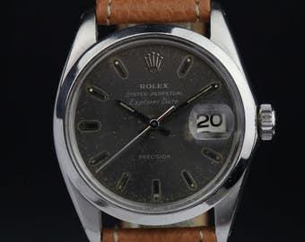 Rolex 5701 1963 Explorer Date Gray Dial