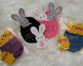 Easter Finger Puppets - Bunny - Chick - Egg