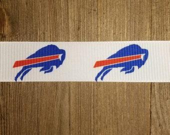 Buffalo Bills 1 inch Grosgrain Ribbon
