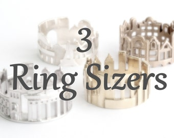 Cityscape Ring Sizers (3 pieces)