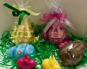 12 Easter Soap Eggs/ Soap/ Easter/ Handmade Soap