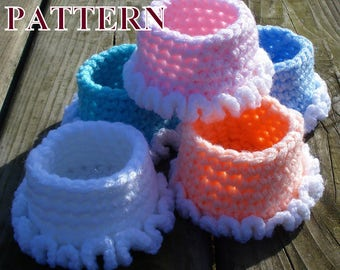Basket crochet pattern baskets crochet bowl patterns basket crochet patterns storage basket crochet home decor crochet OlgaAndrewDesigns106