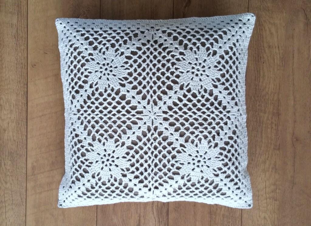 Crochet Pillow Pattern Us Terms La Nostalgie Crochet