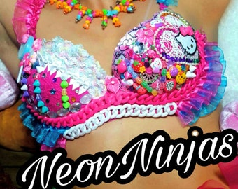 Hello Kitty Rave bra