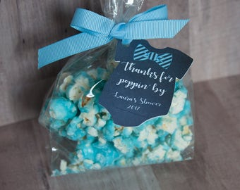 Ready to Pop Baby Shower, Baby Shower Favor, Boy Baby Shower