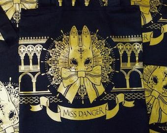 Masquerade bunny bag