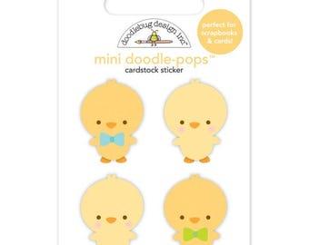 Doodlebug Chickies Doodlepop Sticker