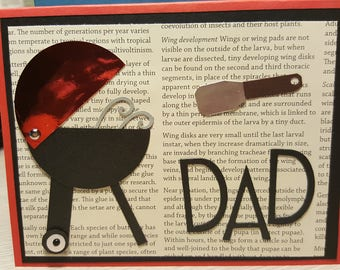 Handmade BBQ Chef Father's Day Card