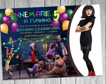 Hotel Transylvania Birthday Invitation
