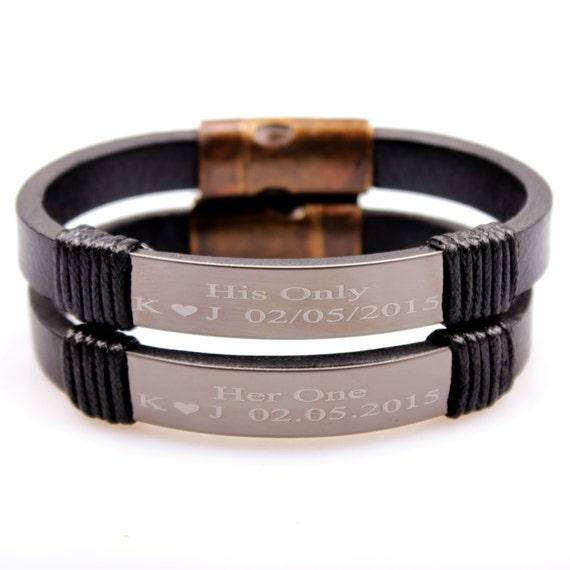 couples engraved bracelet personalized bracelets custom