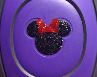 Magic Band 1.0 & 2.0 Mickey Head Inspired for Magic Band Decal, Magic Band Sticker,Disney Magic Band Decal,Disney Decal