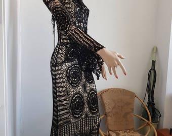 Gehaakte jurk Watchers inclusief onderjurk