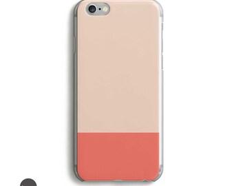 Peach Phone Case, Peach iPhone case, Matte iphone case, iphone 5s case, iphone se case, iphone 6s plus case, iphone 5 case, iphone 5c case