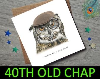 40th Birthday for him - 40th Birthday Card for him - 40th Birthday - 40th Birthday Gift - 40th Birthday Card - 40th Birthday - 40 Birthday