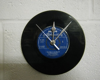 "Dusty Springfield ""I Only Want To Be With You"" Special Unique Vinyl Record Wall Clock Gift"