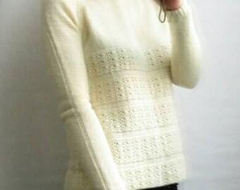 Sweater knitting pure wool Merino