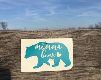 Momma Bear Sticker