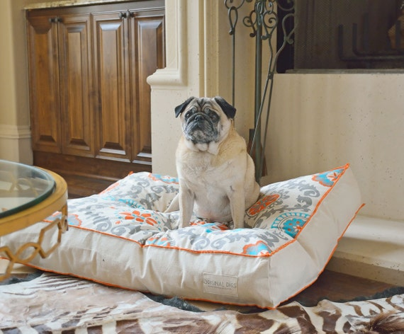 Canvas Dog Bed Modern Pet Bed Dog Bed Pillow By