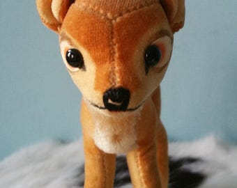 STEIFF Bambi ! Vintage collectible plush fawn deer