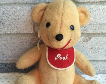 Walt Disney Winnie the Pooh plush, Vintage Winnie the Pooh, pooh Bear, Vintage Pooh Bear, Vintage Disney plush