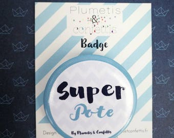 Badge Super buddy