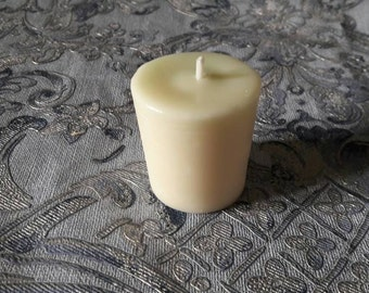 Scented soy wax votive candle