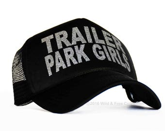 Trailer Park Girls Trucker Hat | Trailer Park Cap | Camping Hat | Camping Trucker Hat