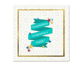 Hafidh - Islamic Greetings Card
