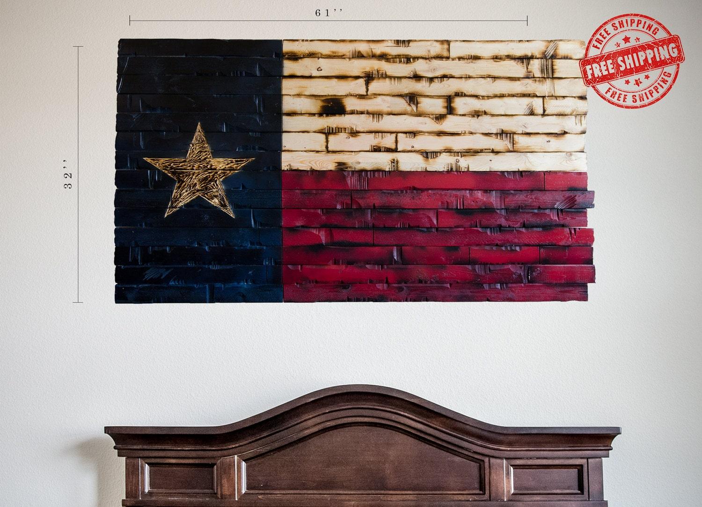 Texas State Flag Rustic Texas Flag Texas Flag By Lgcydecor