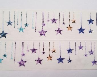 Design Washi tape star Galaxy