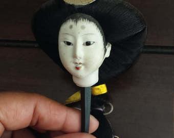 Japanese doll head