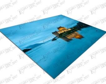 Print on Canvas Loch Duich Eilean Donan Castle Scotland X1342