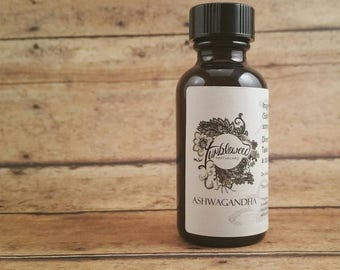 Ashwagandha : Tincture / Simple / Herbal Liquid Extract / Herbal Medicine