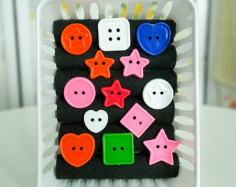 Your choice of Button Ring , Hearts , Stars , and more! - So Kawaii ! Decora Fairy Kei J-fashion