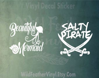 Couple Decal Etsy - Couple custom vinyl decals for car
