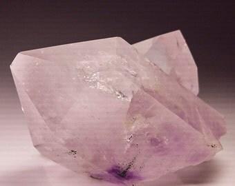Beautiful Large Amethyst Quartz Crystals with Key, Brandberg Goboboseb Namibia