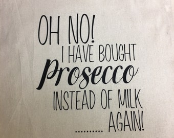 Oh no! I've bought Prosecco bag