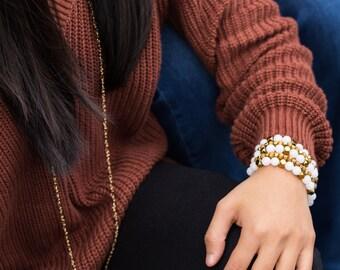 The Julia | Beaded Stack Bracelet