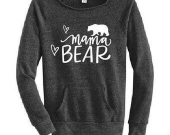 mamma bear, Idaho Embroidery, custom sweatshirt, mothers gift, mom gift, personalized shirt, custom shirt,